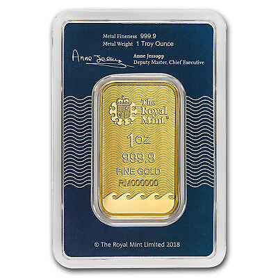 1 oz Gold Bar - The Royal Mint Britannia (In Assay) - SKU#172949 2