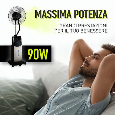 Ventilatore Digitale Acqua Wfd Dardaruga Con Nuovo Nebulizzatore Professionale 10