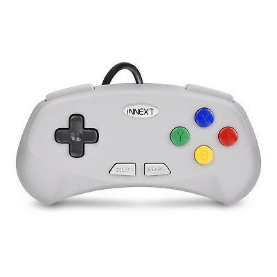 N64 / SNES / NES USB Wired Gaming Controller Pad Joystick For PC LAPTOP MAC 8