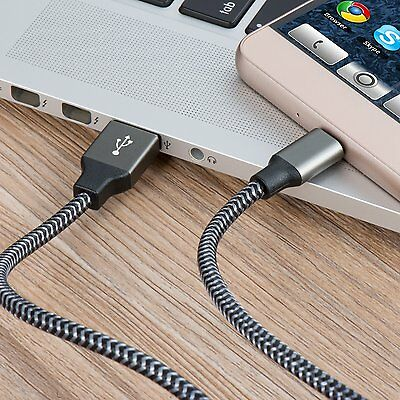 ✔10FT Alloy Reinforce Rapid FAST Charge Micro USB Cable Charging Extra Long Cord