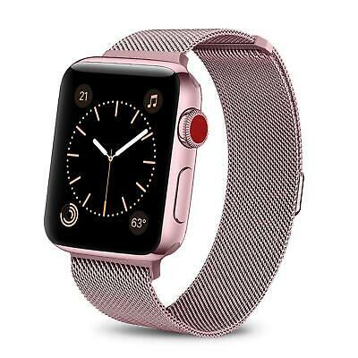 For iWatch Apple Watch Series 3/2/1 Watch Metal Band Strap Adjustable 38mm/42mm 2