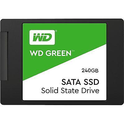 """SSD 2.5"""" WD Green Blue 120GB 250GB 500GB 1TB 2TB SATA Internal Solid State Drive 3"""