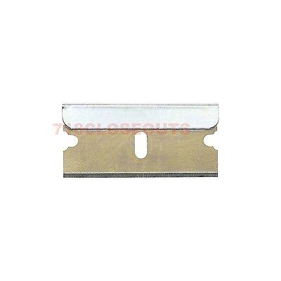 100pc Razor Blades Single Edge Extra Sharp Heat Treated Safety Knife Shaving