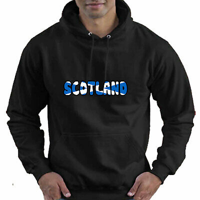 Scotland Scottish Flag Childrens Childs Kids Boys Girls Hoodie Hooded Top 4