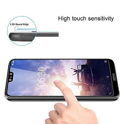 Full Coverage Tempered Glass Screen Protector For Nokia 1 3.1 5 X6 6.1 7 Plus 8 5