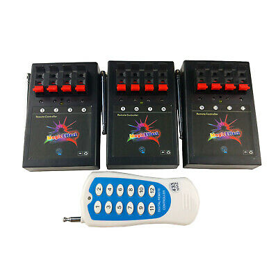 Profession Remote control 12 Cue Wireless Fireworks Firing system 3