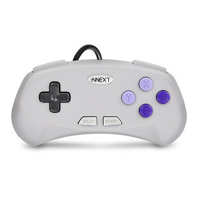 N64 / SNES / NES USB Wired Gaming Controller Pad Joystick For PC LAPTOP MAC 9