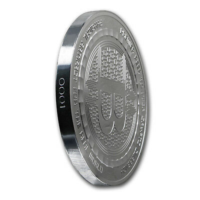 5 oz Silver Proof Round Bitcoin Value Conversion - SKU#166858 3