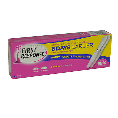 First Response Pregnancy Test 6 Days Early Ultra Sensitive - 2 Tests 2