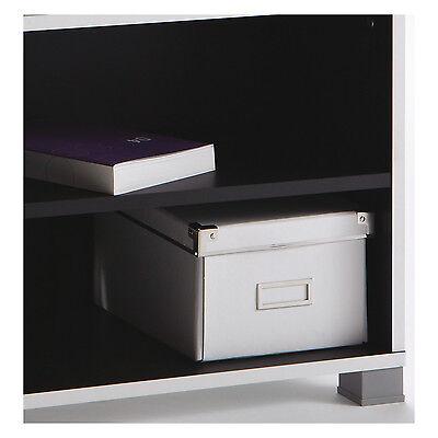 tv regal grafit 218 schwarz wei tv bank hifi rack tv schrank fernsehschrank neu eur 48 90. Black Bedroom Furniture Sets. Home Design Ideas