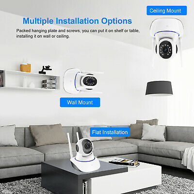 720P/1080P Wireless IP Security Camera Indoor CCTV Home Smart Wifi Baby Monitor 8