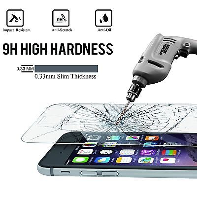 Premium Protective Screen Protector Tempered Glass Film For iPhone 7 Plus 3