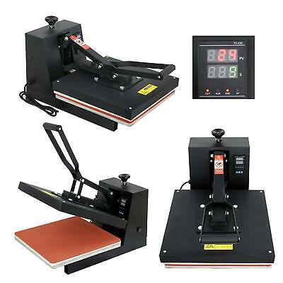 "15""X15"" DIY Digital Clamshell T-shirt Heat Press Machine Sublimation Transfer 5"