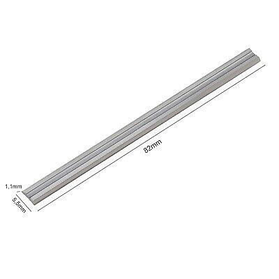 4 Stück HM Hobelmesser Hobel 82mm für Bosch PHO 150 / GHO 15-82 / GHO 26-82  B34