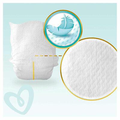 PAMPERS New Baby Taille 1 - 2 à 5Kg - 264 Couches Pour Bébé - Format Pack 1 Mois 10