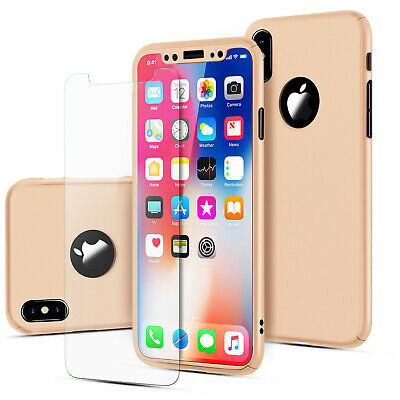 For iPhone 6 7 8 5s Plus XR XS Max Case Shockproof360 Bumper Hybrid Phone Cover 6