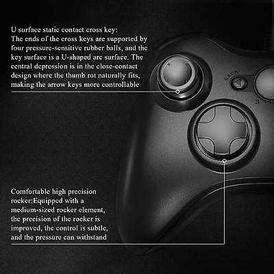 Wired USB Game Controller Joystick for Microsoft Xbox 360 / PC Windows XP 7 8 10 9