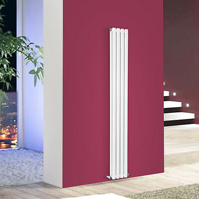 Vertical Tall Upright Designer Radiator Oval Column Central Heating Radiators 4