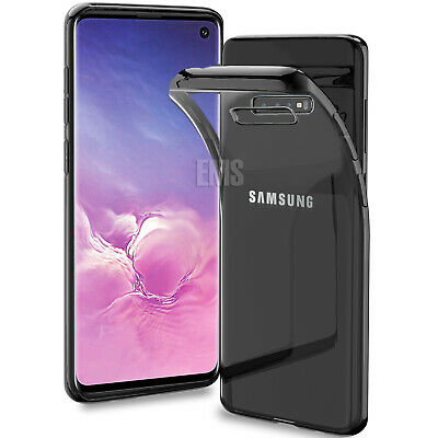 For Samsung Galaxy S10E S10 S9 S8 Plus Clear Case Soft Gel Protective Slim Cover 2
