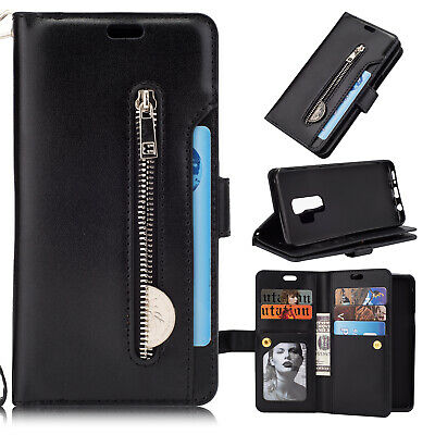 For Samsung Galaxy Note10 Plus S10+ S9 S8 S7 Flip Card Wallet Leather Case Cover 11