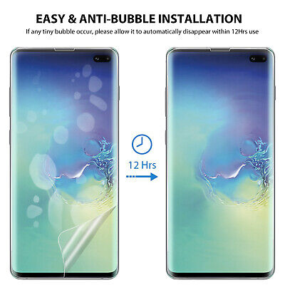 Galaxy S10 S10+ S9 S8 Plus ZUSLAB Full Cover Screen Protector for Samsung X 3 7