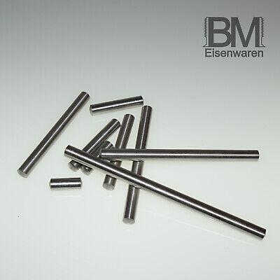 100X Zylinderstifte 2x32 Edelstahl A1 DIN7