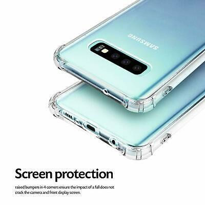 Samsung Galaxy S10e S10 S8 S9 Plus Note 9 10+ Clear Case Shockproof Bumper Cover 4