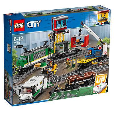 LEGO City 60198 60205 60238 Güterzug Schienen Weichen N9/18 2