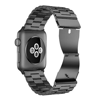 For iWatch Apple Watch Series 5/4 44mm Stainless Steel Band Strap Bracelet 3