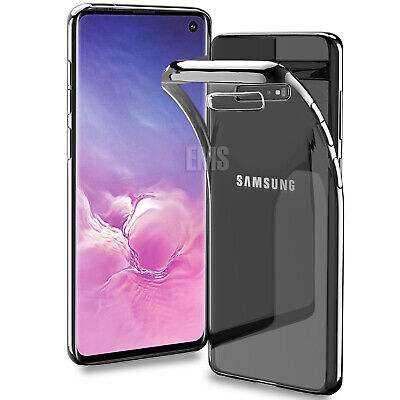 For Samsung Galaxy S10E S10 S9 S8 Plus Clear Case Soft Gel Protective Slim Cover 8