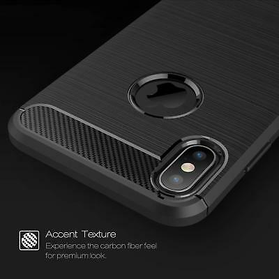 For iPhone XR X XS Max 7 8 Plus 8+ Heavy Duty Shockproof Tough Rubber Case Cover 5