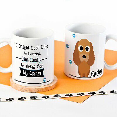 Personalised Dog Mug Funny Pet Cup Birthday Gift All Breeds 7