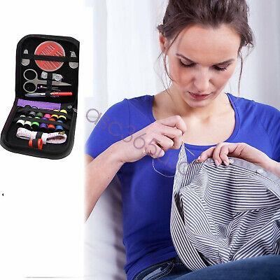Sewing Kit Mini Travel Kit Scissor Thread Needles Beginner Sew Tools Repair New 6