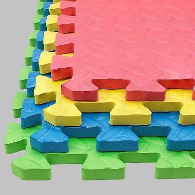 Extra Thick Gym Flooring Interlocking Floor Mats EVA Soft Foam Mat Yoga Tiles 11