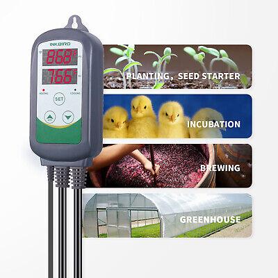 Inkbird ITC-308 WIFI Temp Controller Thermostat 2 Dual Relays 2400W AU Plug Heat 2