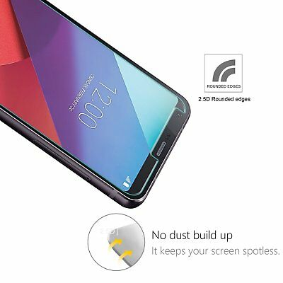 2x LG G6 Tempered Glass / Pet Screen Protector Film Guard LCD Protector 4