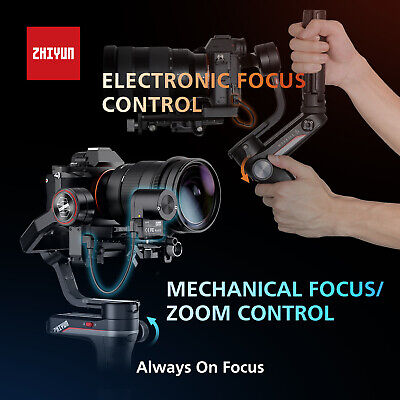 ZHIYUN WEEBILL S 3-Axis Gimbal Handheld Stabilizer For DSLR & Mirrorless Cameras 9