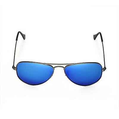 5aee5c99cb ... WL Polarized Fire Red+Ice Blue Lenses 4 Ray-Ban Aviator RB3044 Small  Metal