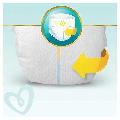 PAMPERS New Baby Taille 1 - 2 à 5Kg - 264 Couches Pour Bébé - Format Pack 1 Mois 7