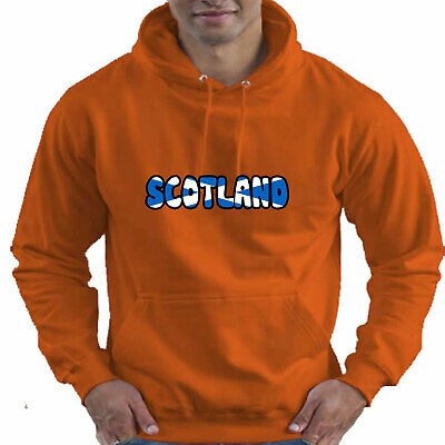 Scotland Scottish Flag Childrens Childs Kids Boys Girls Hoodie Hooded Top 8