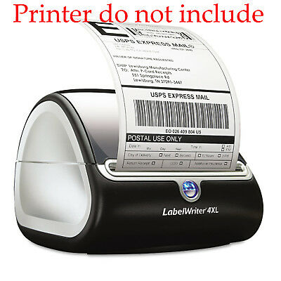 6 Rolls DYMO 4XL Thermal Postage Shipping Labels 4x6 1744907 Compatible 220/Roll 7