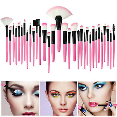 7~32Pcs Professional Makeup Brushes Set Eyeshadow Lip Powder Brush Cosmetic Tool 9