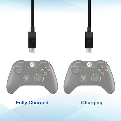 For Xbox One X Controller Play Charging Charger Cable Rechargeable Battery Pack 5