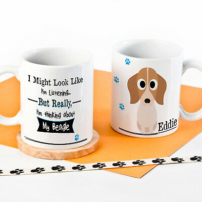 Personalised Dog Mug Funny Pet Cup Birthday Gift All Breeds 4