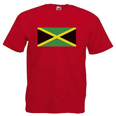 Jamaica Flag Children's Kids T Shirt 4