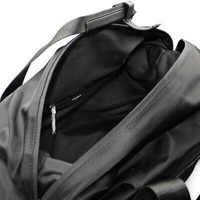 Roberto Cavalli CLASS weekend travel bag duffle bag of black nylon leopard print 6
