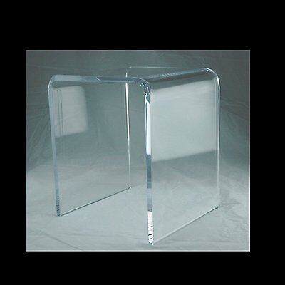 Set of 3 Assorted Size Square Acrylic Clear Risers Display Stand 3,4, 5 Inch