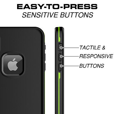 For Apple iPhone XR Xs Max Case Life Waterproof Dropproof Dirtproof Snowproof 8