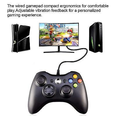Wired USB Game Controller Joystick for Microsoft Xbox 360 / PC Windows XP 7 8 10 7