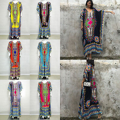 a437d15db19 ... Dashiki Dress Plus Size Traditional Maxi Dresses African Clothing  Womens Tribal 3